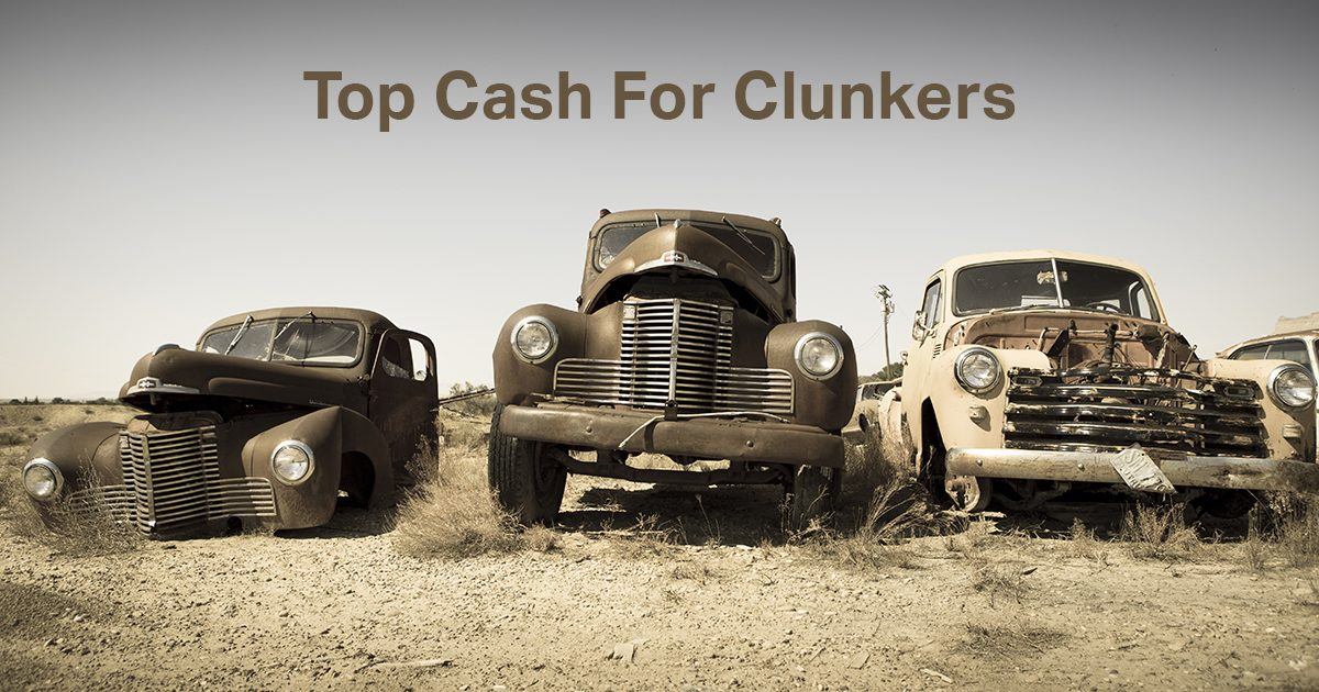 Cash For Clunkers >> Top Cash For Clunkers We Buy Junk Cars
